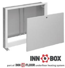 Cutie reglabila pentru distribuitor incastrabila INNOBOX INNA-4