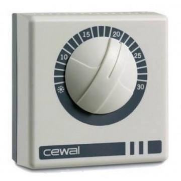 Termostat de ambient mecanic cu fir CEWAL RQ01