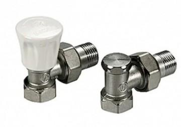 Set robineti radiator tur/retur GIACOMINI 1/2