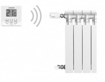 Poza Set cap termostatic wireless si un termostat AURATON APUS SET (200 TRA)