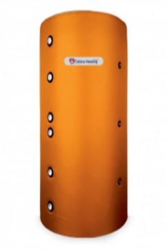 Rezervor de acumulare/Puffer CELSIUS 1000 litri  cu izolatie si doua serpentine metalice, H=2350 mm