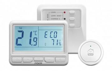 Termostat POER Smart cu control vocal Google Home si Alexa prin internet
