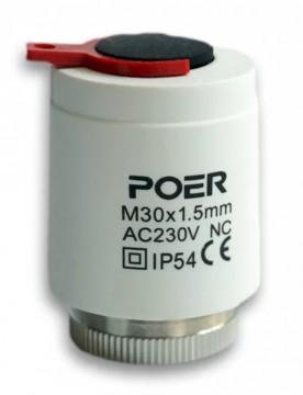 Actuator termic POER Smart 230V NC M30x1.5