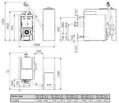Poza Centrala termica pe peleti si lemn VIADRUS A0C 28 kw, Rezervor peleti 265 litri