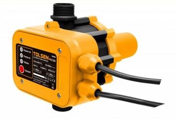 Presostat electronic  TOLSEN, 10 bar cu restart automat lipsa apa, max 1100 W