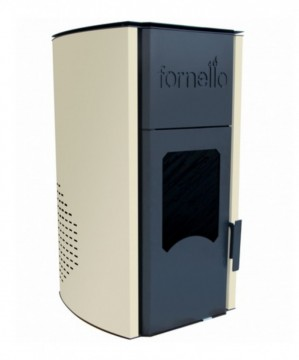 Poza Termosemineu pe peleti FORNELLO ROYAL IVORY 25 - 25 kW