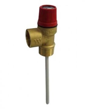 Supapa de siguranta combinata temperatura si presiune Watts MSL/PT - 3/4