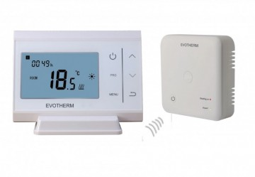 Poza Termostat de ambient fara fir programabil Evotherm RF